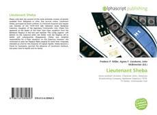 Lieutenant Sheba kitap kapağı