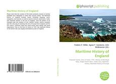 Bookcover of Maritime History of England