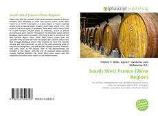 Bookcover of South West France (Wine Region)
