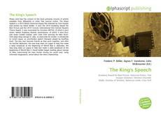 Bookcover of The King's Speech