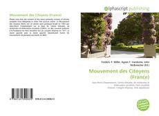 Bookcover of Mouvement des Citoyens (France)