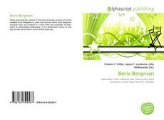 Boris Bergman kitap kapağı