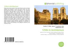 Bookcover of 1250s in Architecture