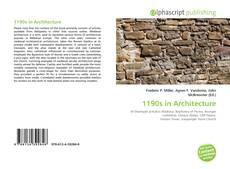 Обложка 1190s in Architecture