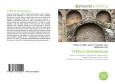 Bookcover of 1180s in Architecture