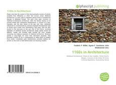 Bookcover of 1160s in Architecture