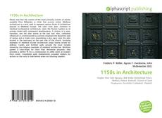 Обложка 1150s in Architecture