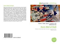 Bookcover of Awni Abd al-Hadi