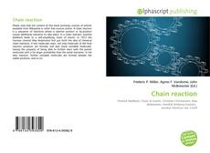 Chain reaction kitap kapağı