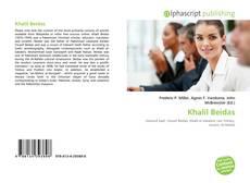 Bookcover of Khalil Beidas