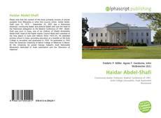 Bookcover of Haidar Abdel-Shafi