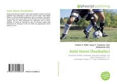 Buchcover von Antti Niemi (footballer)
