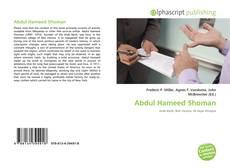 Bookcover of Abdul Hameed Shoman