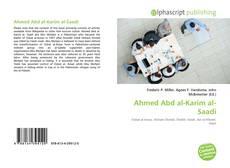 Copertina di Ahmed Abd al-Karim al-Saadi