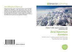 Portada del libro de Aero Adventure Aventura