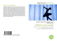 Ondine, ou La naïade kitap kapağı