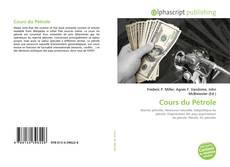 Copertina di Cours du Pétrole