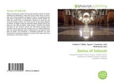 Bookcover of Aerius of Sebaste