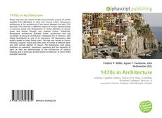 Bookcover of 1470s in Architecture