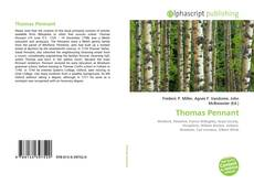 Bookcover of Thomas Pennant