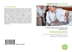 Bookcover of Torsion Dystonia