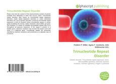 Trinucleotide Repeat Disorder kitap kapağı