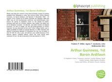 Borítókép a  Arthur Guinness, 1st Baron Ardilaun - hoz