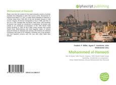 Buchcover von Mohammed al-Hanooti