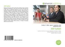 Buchcover von Afif Safieh
