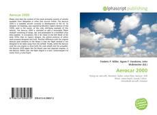 Bookcover of Aerocar 2000