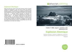Bookcover of Explosion Atomique