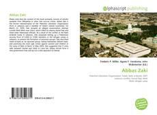 Bookcover of Abbas Zaki