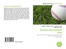 Buchcover von Durham Bulls Athletic Park