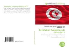 Borítókép a  Révolution Tunisienne de 2010-2011 - hoz