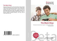 Portada del libro de The Black Onyx