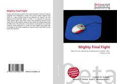 Bookcover of Mighty Final Fight