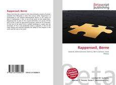 Bookcover of Rapperswil, Berne