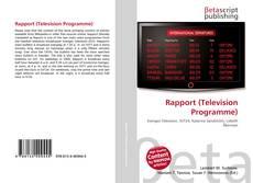 Borítókép a  Rapport (Television Programme) - hoz