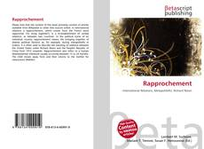 Bookcover of Rapprochement