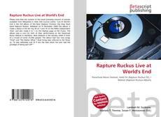 Rapture Ruckus Live at World's End的封面