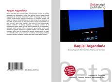 Buchcover von Raquel Argandoña