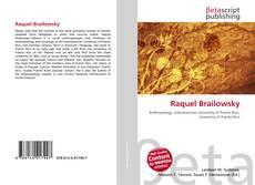 Buchcover von Raquel Brailowsky