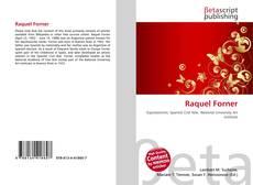 Buchcover von Raquel Forner