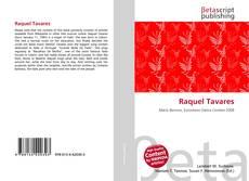 Buchcover von Raquel Tavares