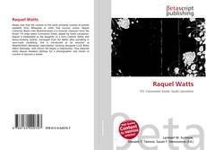 Buchcover von Raquel Watts