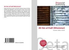 Buchcover von Ali ibn al-Fadl (Missionar)