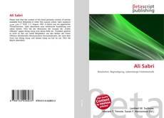 Bookcover of Ali Sabri
