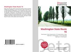 Bookcover of Washington State Route 16