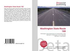 Bookcover of Washington State Route 160