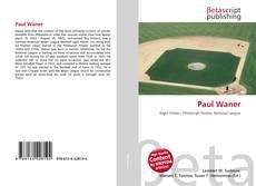 Paul Waner的封面